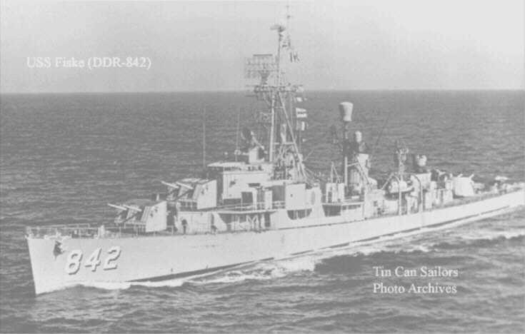 At sea in '58 (TCS)