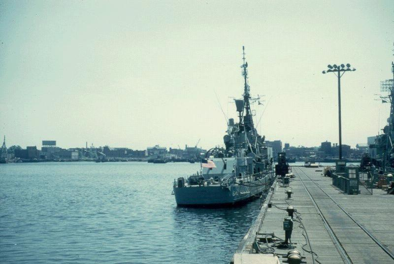 Boston Navy Yard-May 1960